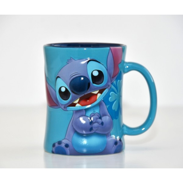 Disneyland Paris Stitch Character Drinking Glass