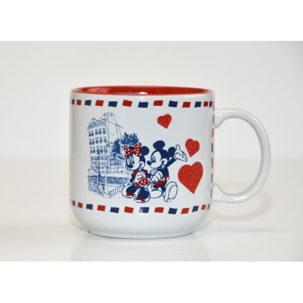 Disney Mickey and Minnie in Love in Paris Mug