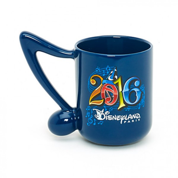 Disneyland Paris 2016 Musical Note Mug
