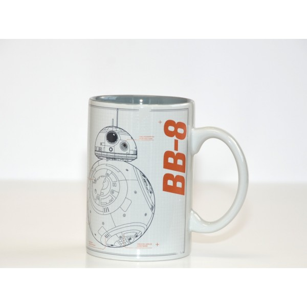 Disneyland Paris Star Wars BB-8 Sketch Mug