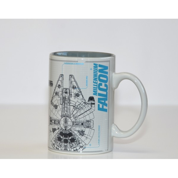 Disneyland Paris Star Wars Millennium Falcon Sketch Mug