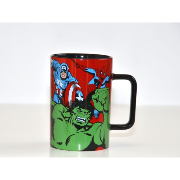 Marvel Comic Mug, Red