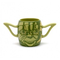 Star Wars Yoda Jedi Ceramic Coffee Mug Sculpted Ears