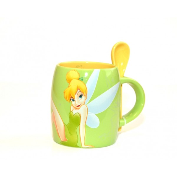 Tinker Bell Mug and Spoon