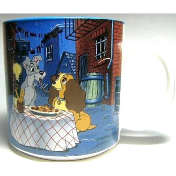 Vintage Walt Disney Lady and the Tramp Mug