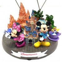 Disneyland Paris Attractions Figurine Clip Frame