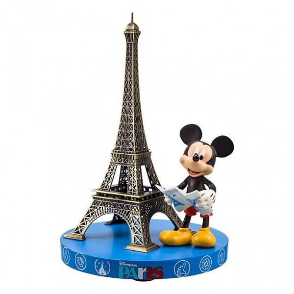Mickey Mouse and Eiffel Tower Souvenir Figurine, Disneyland Paris