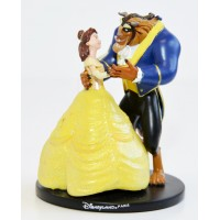 Disney Beauty and the Beast - Belle and the Beast Figure,Disneyland Paris