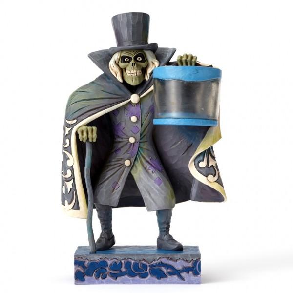 Disney Parks Haunted Mansion Hatbox Ghost Figurine