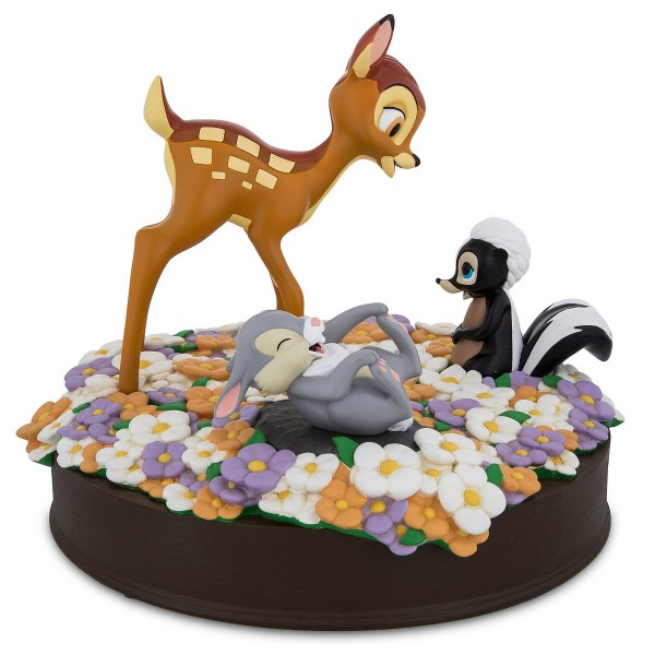 Disney Bambi and Friends 75th Anniversary Figurine, Disneyland Paris