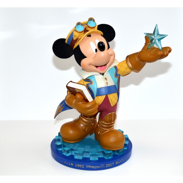 Disneyland Paris 25 Anniversary Mickey Mouse Large Figurine