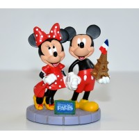 Mickey and Minnie Eiffel Tower Figure, Disneyland Paris