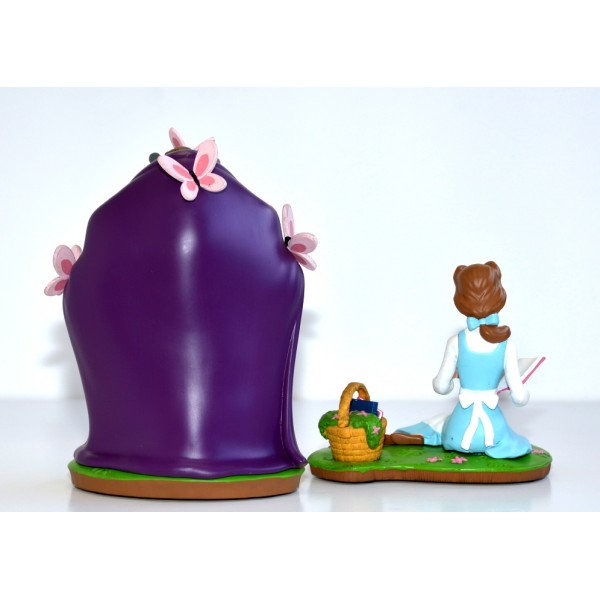 Disney Beauty And The Beast Set Of Two Figurines
