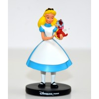 Disney Alice in Wonderland and Dinah Figure