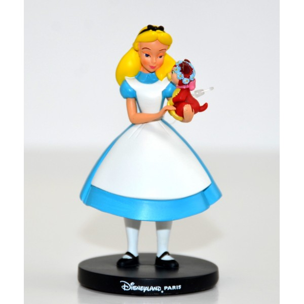 Disney Alice in Wonderland and Dinah Figure