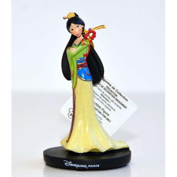 Disneyland Paris Princess Mulan and Mushu Figurine