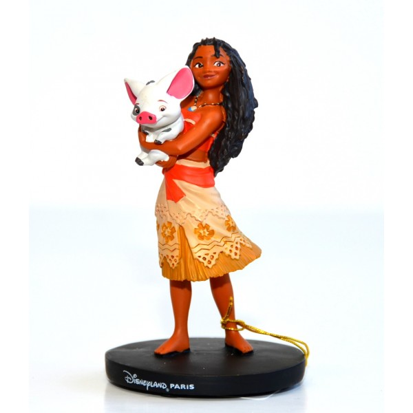 Disneyland Paris Princess Moana and Pua figurine