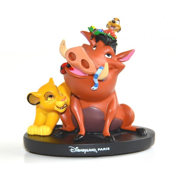 Simba Timon and Pumba figure, Disneyland Paris