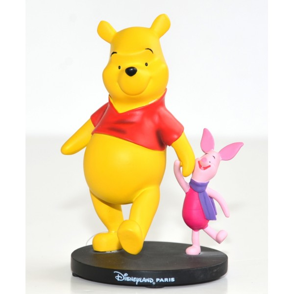 Winnie the Pooh and Piglet small figure, Disneyland Paris