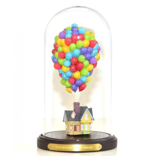 Disney Pixar Up! House under glass Dome Figure Limited Edition, Disneyland Paris