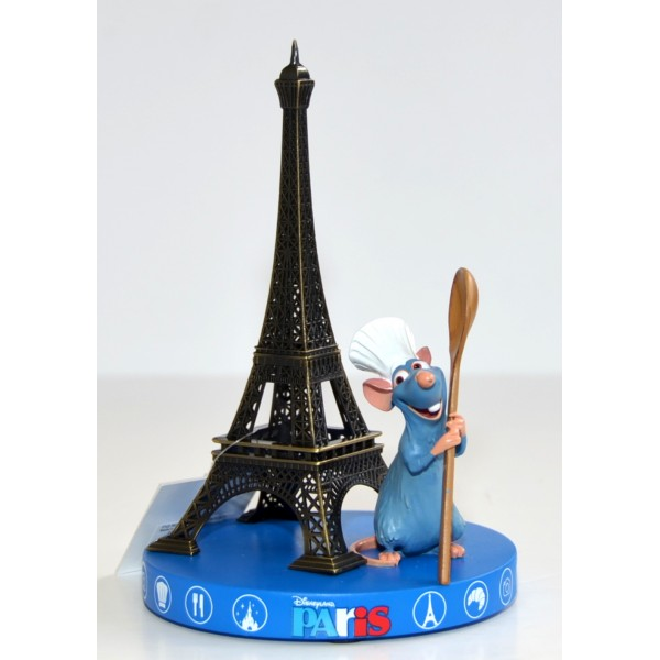 Ratatouille and Eiffel Tower Souvenir Figurine, Disneyland Paris