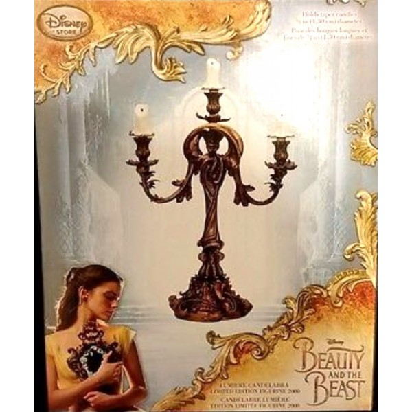 Disney Beauty & the Beast Live Action Film Figure - Lumière Candelabra Limited Edition