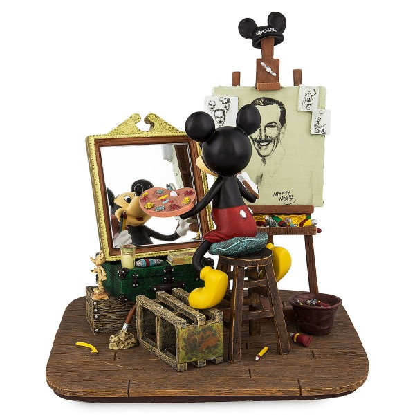 Disney Mickey Mouse Self-Portrait Figurine