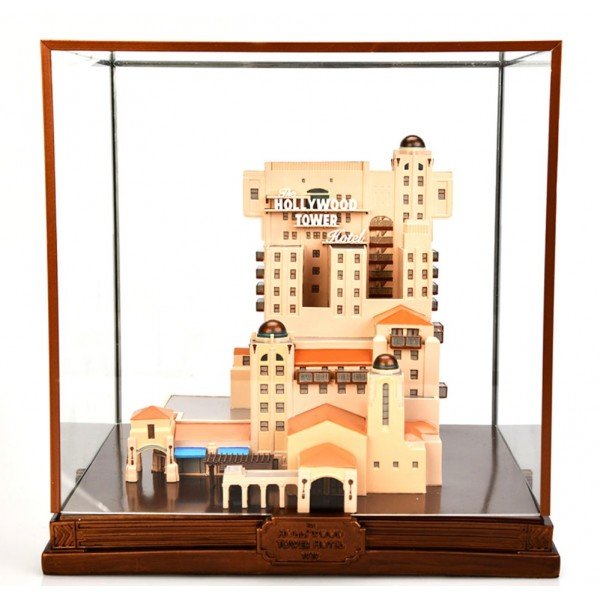 Hollywood Tower Hotel of Terror Replica Figure with display case,Disneyland Paris