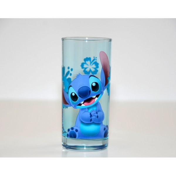 Disneyland Paris Character Stitch Drinking Glass