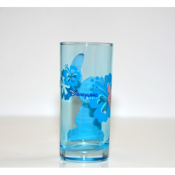 Disneyland Paris Stitch Character Drinking Glass