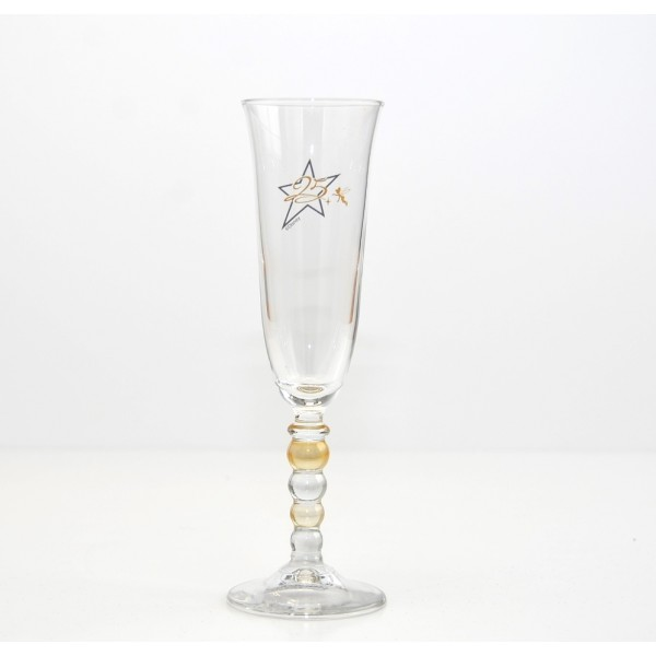 Disneyland Paris 25th Anniversary Champagne Glasses