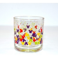 Disney Mickey Mouse icon pattern colour glass