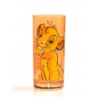 Simba Character Drinking Glass, Disneyland Paris