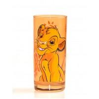 Simba Character Drinking Glass, Disneyland Paris