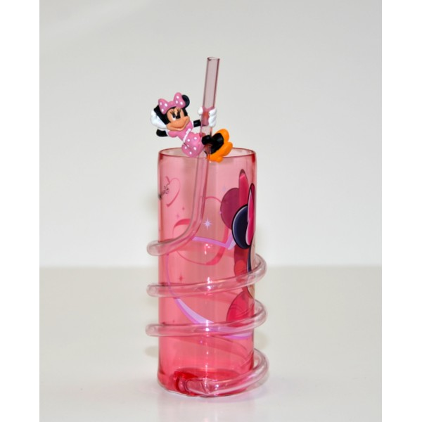 Minnie Mouse Curly Straw Tumbler