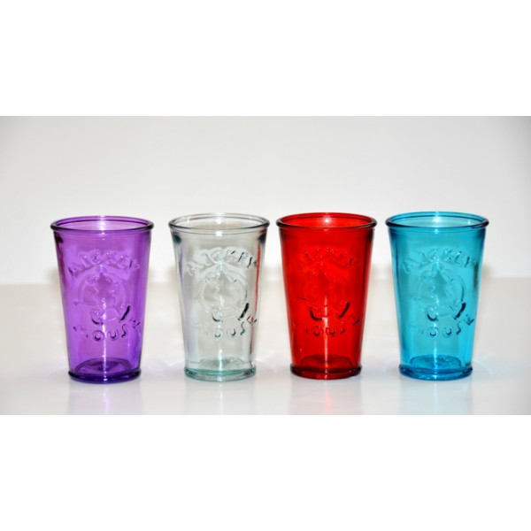 Mickey 3D Purple Drinking Glass