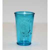 Mickey 3D Blue Drinking Glass