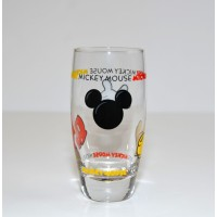 Mickey Body Parts Glass