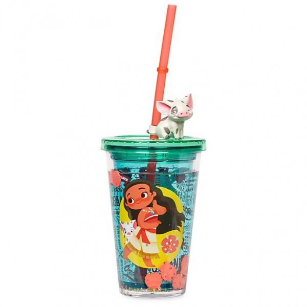 Disney Moana Straw Tumbler