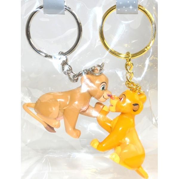 Simba and Nala Magnetic key ring, Disneyland Paris