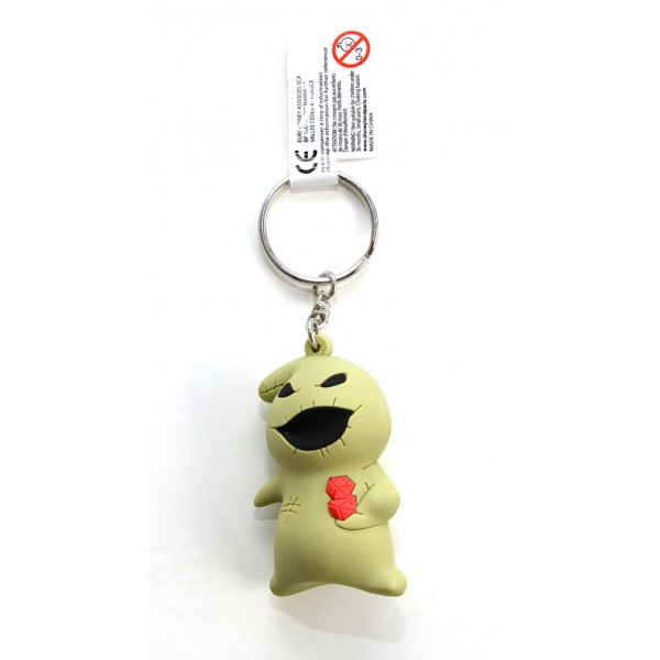 Disneyland Paris Nightmare Before Christmas Oogie Boogie 3D Keyring