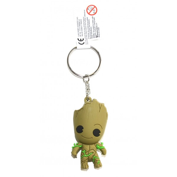 Marvel Guardians of the Galaxy Groot 3D Keyring