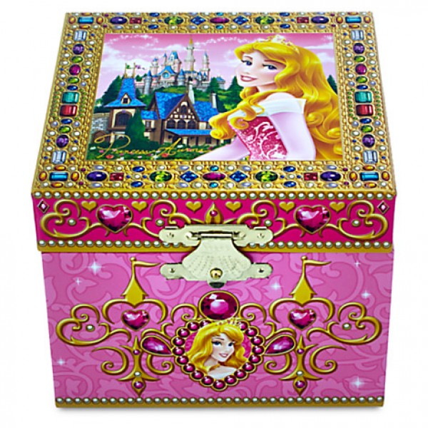 Aurora Musical Jewellery Box