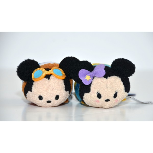 Disneyland Paris 25 Anniversary Mickey and Minnie Tsum Tsum