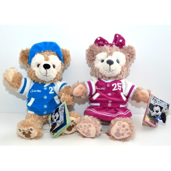 Exclusive Disneyland Paris 25th Anniversary Duffy and ShellieMay Bears
