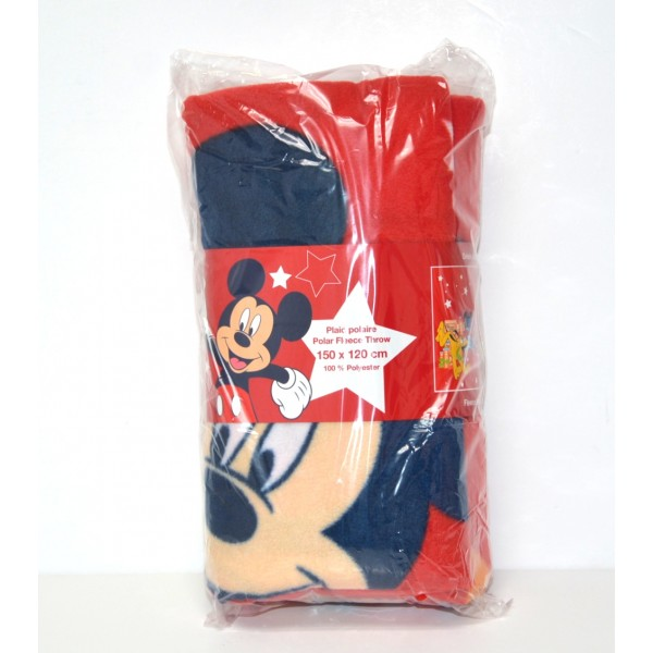 Disneyland Paris Mickey Mouse Fleece Blanket