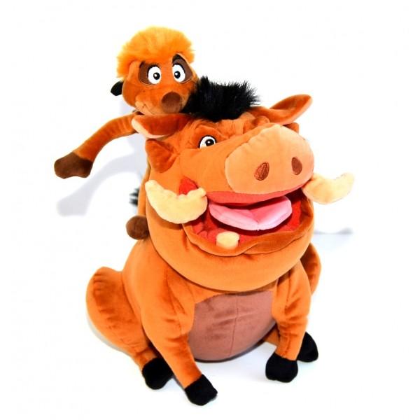 Disneyland Paris Timon and Pumbaa Plush Soft Toy