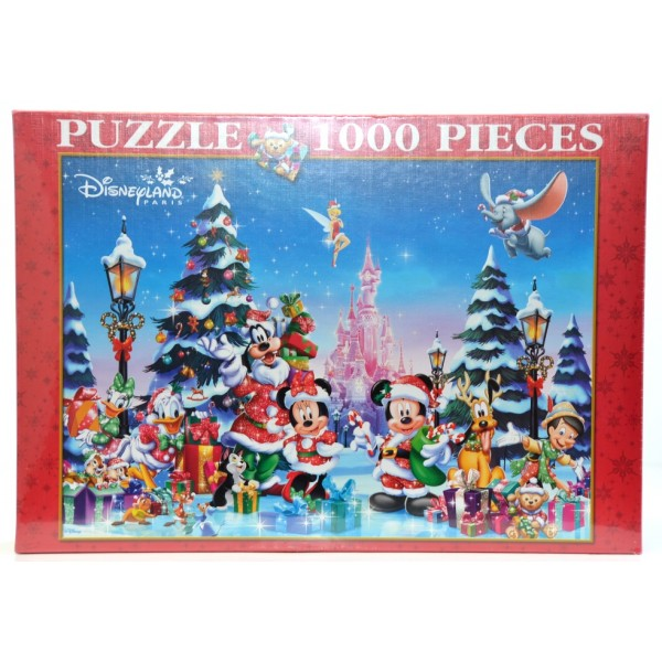 Disneyland Paris 1000 Piece Christmas Puzzle