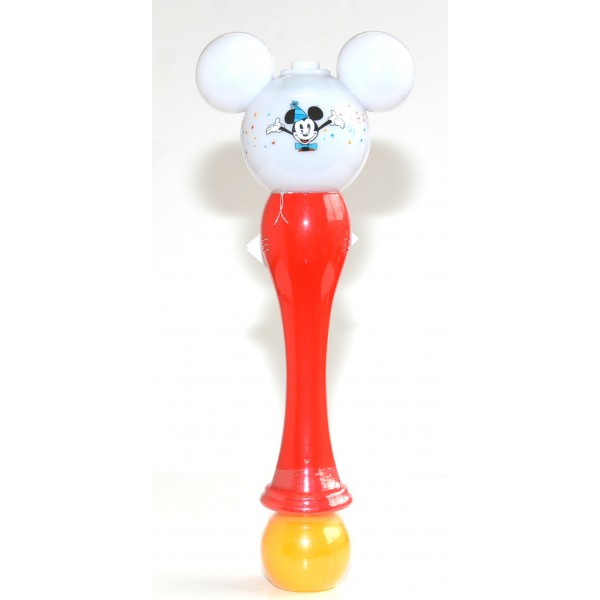 Mickey Mouse Bubble Blower Glow Light-Up Wand