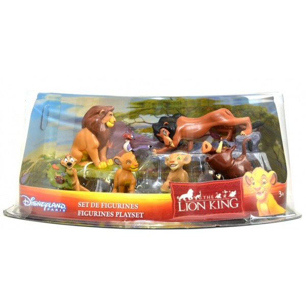 Disney The Lion King Figurine Playset, Disneyland Paris Original